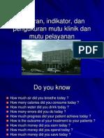 Sasaran Indikator Dan Pengukuran Mutu Klinik_1