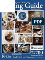 Fall-Winter 2013-14 Quad Cities' Dining Guide Published by the River Cities' Reader