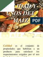 Composicion Aceite y Maiz