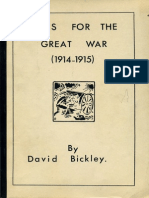 Wargame - Ttg - Rules for the Great War (1914-1915)