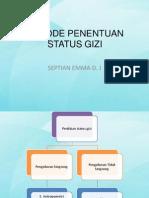 2. Metode Penentuan Status Gizi