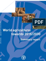 World Agriculture Towards 2015-2030-Summary Report
