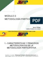 MODULO 2. Metodología Participativa