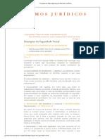 Princípios da Seguridade Social _ Resumos Jurídicos