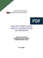 Formulario Acreditación 2008
