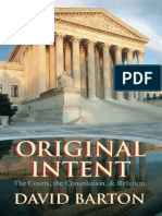 Barton, David - Original Intent_ the Courts, The Constitution, And Religion