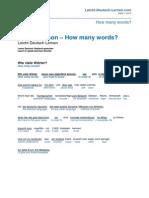 Words Leicht Deutsch Lernen.com
