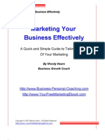 Marketing Your Business Effectively