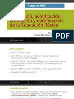 Acuerdo 696 Evaluación, acreditación, promoción y certificación de.pdf
