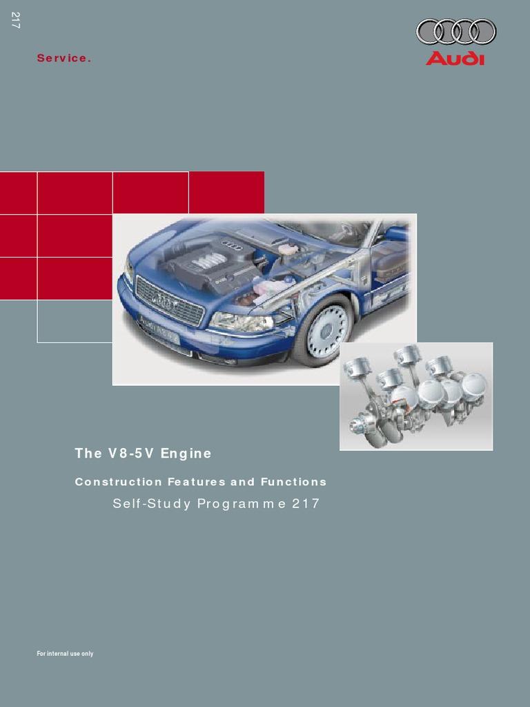 audi 4 2 v8 5v engine self study guide throttle internal rh scribd com Used Audi Motors Audi A3 Engine