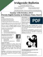 2013-10-13 - 28th Ordinary Year C