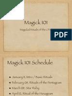 magick 101