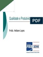 Qualidade e Produtividade_Aula 123456