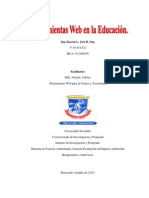 Boscán L; José R. Herramientas web en la educación.UNY.