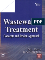 Wastewater Treatment - Conceptual and Disign