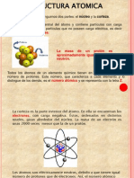 Estructura atómica completa
