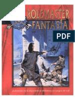 Rolemaster Fantasía (español) rol
