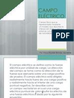 CAMPO ELÉCTRICO Métodos Eléctricos I