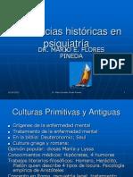 Tendencias históricas en psiquiatría