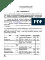 001 2010 Edital Abertura Inscricoes Carazinho 2010
