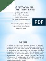 Proceso de Obtencion Del Etanol a Partir De