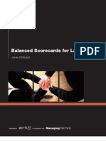 Balanced Scorecards for Law Firms