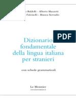 [Italiano Per Stranieri] Dizionario Fondamentale Della Lingua Italiana Per Stranieri