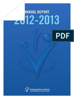 Living Positive Victoria Annual Report 2012 - 2013