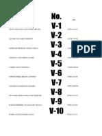 Base de Datos Admvos. t.v. 2013