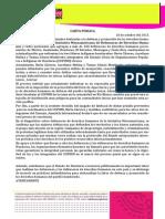 Carta de la IM-Defensoras y diversas OSCs internacionales a las autoridades hondureñas - caso COPINH