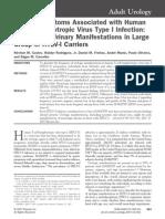 Artigo HTLV e Sintomas Urinarios