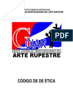 Codigo de Etica. Cuba