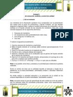 Actividad de Aprendizaje Unidad 2- Practica Extracto de Cascara de Mandarina