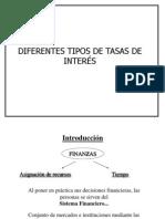 Diferentes Tipos de Tasas de Interés.ppt