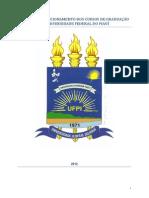 Normas de Funcionamento dos Cursos de Graduação da UFPI atualizadas pela Resolução 177_2012