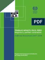 Trabajo infantil en el Perú