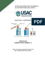 Practicas Quimica II-2013