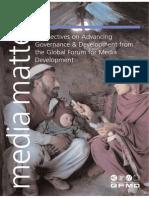 Media Matters_Governance and Development From the Global Forum for Media Development