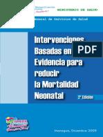 Intervenciones Basadas en Evidencia Para Reducir La Mortalidad Neonatal