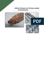 Materiales Férricos y No-Ferrosos