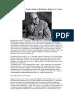 Teoría Tradicional y Teoría Crítica de Horkheimer