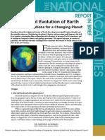 Origin and Evolution of Earth