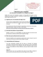 Formulaire Exemption MEC(Version-4)