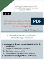 Metodologia General de Identificacion, Preparacion y Evaluacion