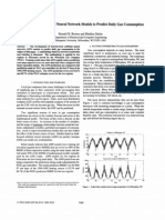 Development of Artificial Neural Network Models to Predict Daily Gas Consumption