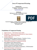 Foundations of Compressed Sensing