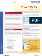 CSS reference card