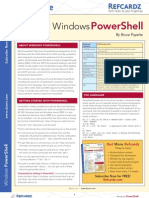 PowerShell Reference card