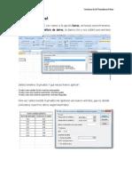 Prueba t en Excel