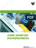 Atomic Absorption Spectrophotometer Category